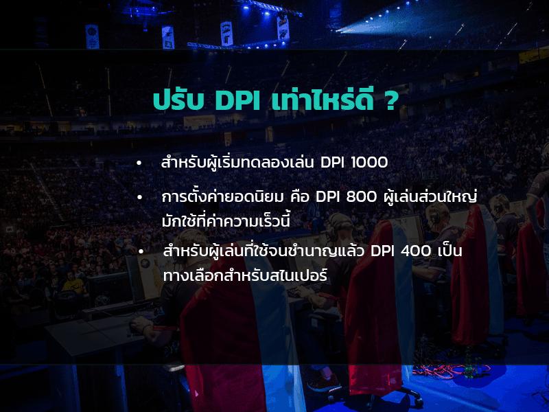 DPI เท่าไหร่ดี